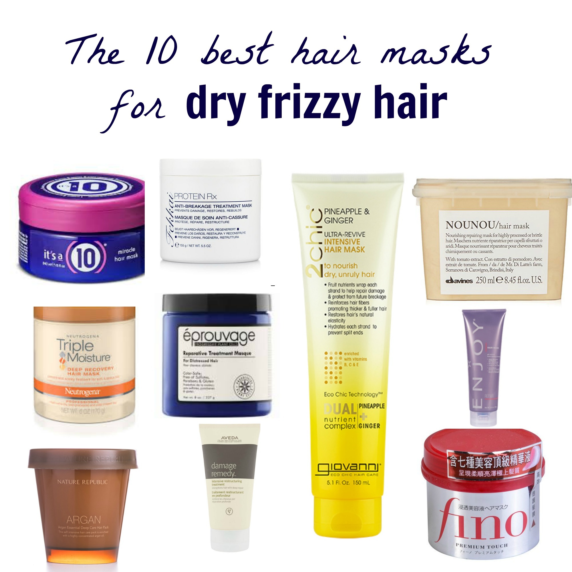 The 10 Best Hair Masks For Dry Frizzy Hair More Than A