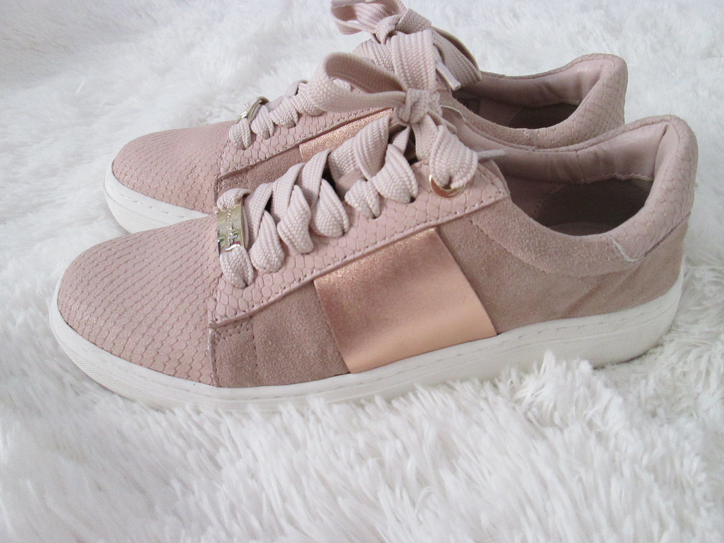 7d43076beeb2 The best blush sneakers that are on sale! - More Than A Fashion Blog